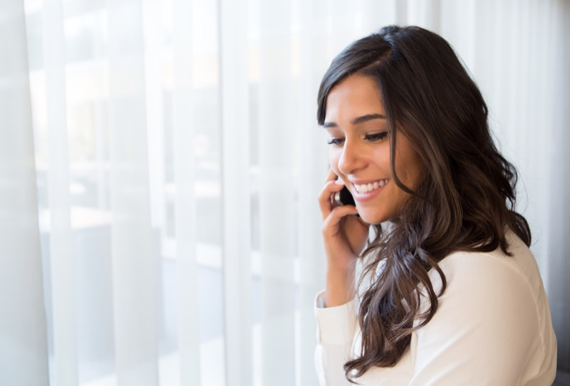 woman-on-conference-call
