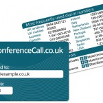 How to get a free Conference Call NFC Wallet Card